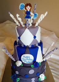 cheerleader cake story kay cake designs