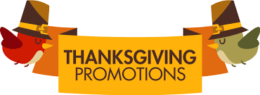 thanksgiving promotions you can feel about