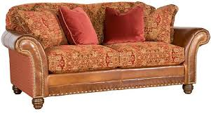 King Hickory - Hickory leather sofa