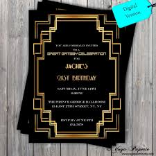 great gatsby invitations template resume blank coupons templates