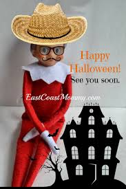 Halloween Pictures Printable East Coast Mommy Elf On The Shelf Halloween Greeting Free Printable