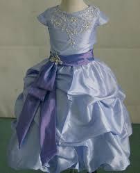 girls taffeta and lace pickup dress