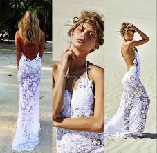 the styles of beach wedding simple beach wedding gowns