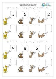 free worksheets ordering numbers worksheets key stage 1 free