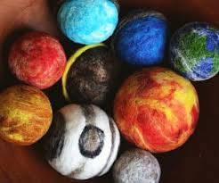 solar system planets ornament set