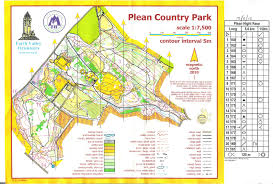 Stirling Scotland Map Martin Dean Fvo Night Race Plean Country Park