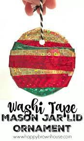 washi jar lid ornament motor skills washi and washi