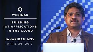 building iot applications in the cloud webinar by cloud expert