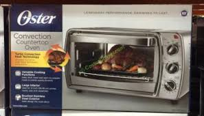 Oster 6 Slice Toaster Oven Review Oster 6 Slice Convection Countertop Oven Model Tssttvcg04
