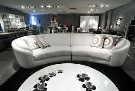Leather Lounger Sofa Round Leather Sofa Foter