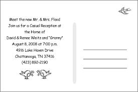 wedding reception invitation wording casual wedding reception invitation wording vertabox