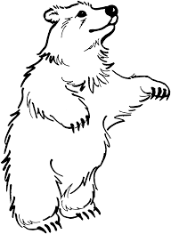 polar bear color page minion coloring pages cartoons printable coloring pages