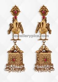 buttalu earrings gold jhumka buttalu by jagadish jewellers gold jewellery designs