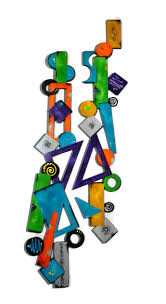 119 best colorful bright abstract wall sculptures i like images on