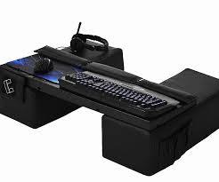 Lap Desk With Storage Compartment And Mouse Lap Desk