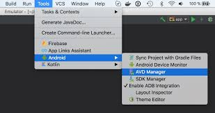 android sdk emulator how to install ios simulator and android emulator on mac for