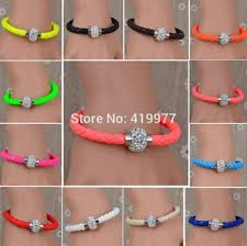 rhinestone buckle bracelet images Cheap leather wristband women find leather wristband women deals jpg