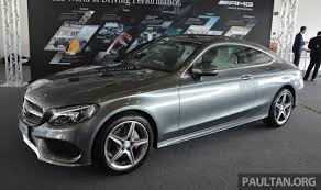 bmw c200 price c205 mercedes c class coupe launched in malaysia three