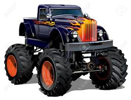 monster trucks video clips cartoon monster truck available eps 10 separated by groups and