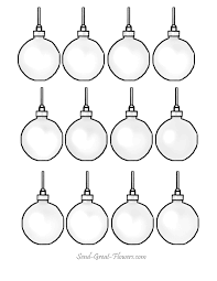 printbale ornaments printable coloring pages with