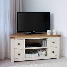 Tv Units Henley Cream Living Furniture Collection Dunelm Corner Tv