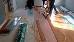 Squeaky Bathroom Floor Fixing A Squeaky Floor Fine Homebuilding