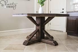 diy round farmhouse table extraordinary dining table ideas for round table diy round table