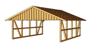 double carport gable roof truss sams garden shed store