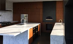 modern cabinets made with walnut wood in los angeles palo arte woodworks