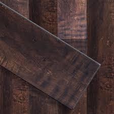 luxury click vinyl featherweight 6 x36 river rock plank floor