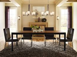 Beige Dining Room Wonderful Dining Room Chandelier Height Blend Of Dark Brown Colour