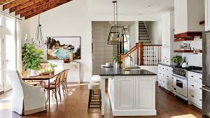 Cottage Open Floor Plan See How One Designer Moved Back Home To Build Her Dream Cottage