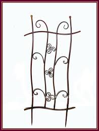 garden wall trellis wrought iron metal fence buy garden wrought