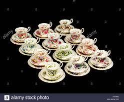 Flowers Of The Month Full Set Of Vintage Royal Albert Porcelain