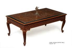antique centre table designs ethnic kraft