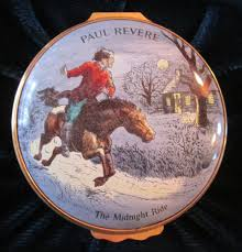 thanksgiving day 1976 days enamel box paul revere midnight ride 1976 limited edition