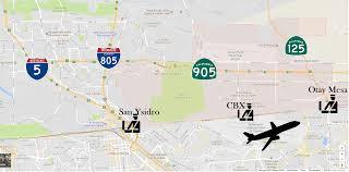 Tijuana Mexico Map Tijuana Airport 101 Delta Truck Parking