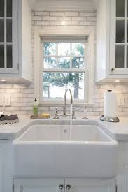 waterworks kitchen faucets waterworks reclaimed brick transitional kitchen hton design