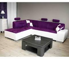 canapé violet convertible cuisine canapã d angle canapã s large choix de produits ã dã