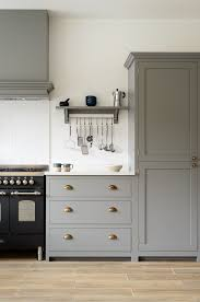kitchen door furniture beautiful devol shaker cabinets painted in lead classic brass