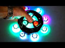 a light up fidget spinner diy giant led fidget spinner mod 3 edc hand spinners tutorials