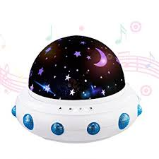 baby night light projector with music amazon com led star light projector soft piano music baby nursery