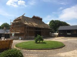 roof thatching portfolio cottage roofs re thatch re ridge