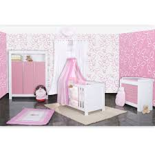babyzimmer rosa babyzimmer felix in weiss rosa mit 3 türigem kl 19 tlg sleeping