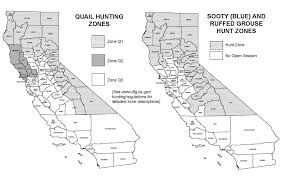 Upland Zip Code Map by 50 California Grouse Hunting Locations Legal Labrador