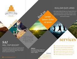 brochure design idea example music brochure design ideas