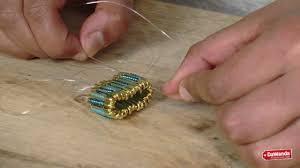 safety pin ring diy tutorial youtube