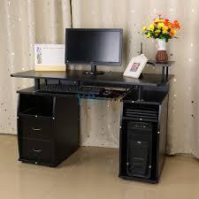 Kleiner Arbeitstisch Computertisch Pc Schreibtisch Arbeitstisch Büro Tisch Schwarz