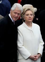 presidential inauguration hillary u0026 bill clinton attend