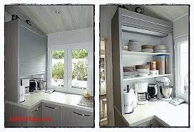 volet roulant pour placard cuisine rideau pour placard cuisine rideau pour meuble de cuisine ouvert